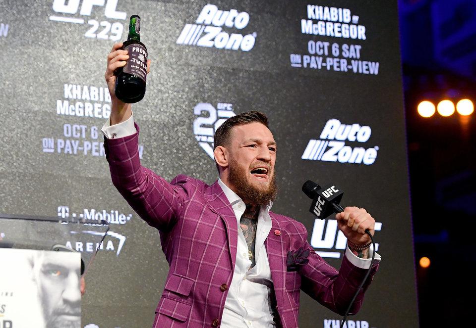 Макгрегор предложил провести турнир UFC на стотысячном стадионе