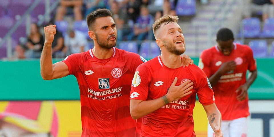 «Майнц» ушел от поражения в матче с «Лейпцигом»