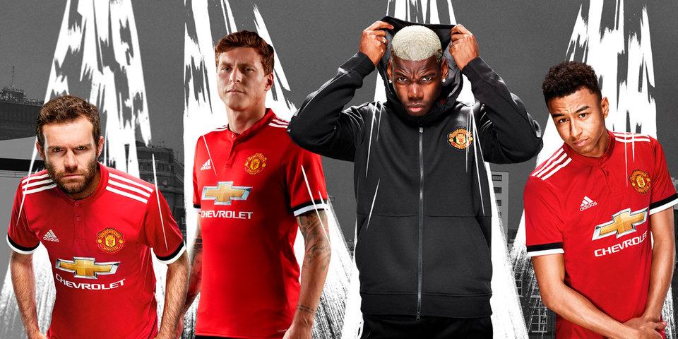 «Манчестер Юнайтед» представил домашнюю форму на сезон-2017/18