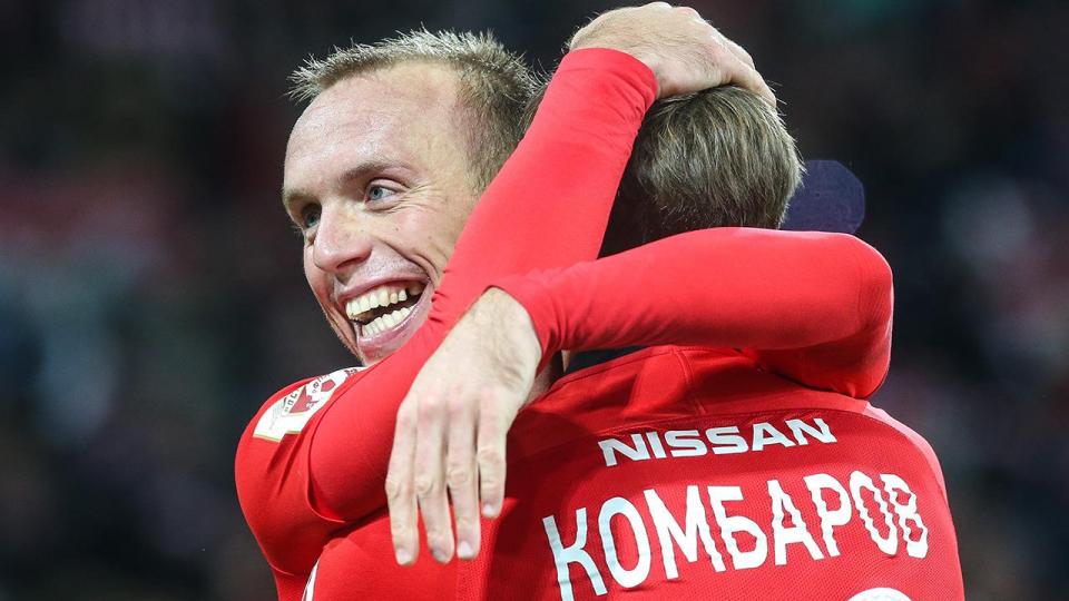 Шикарный гол Глушакова принес «Спартаку» победу над «Амкаром»