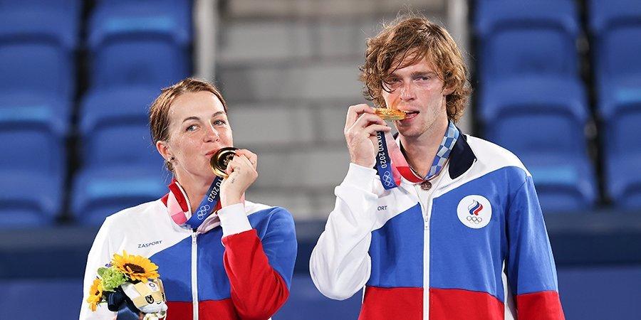 Анастасия Павлюченкова — о победе на ОИ: «Не верится, но мы сделали это. Мечты сбываются»