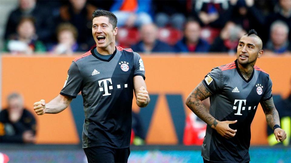 «Бавария» победила ПСВ благодаря дублю Левандовского