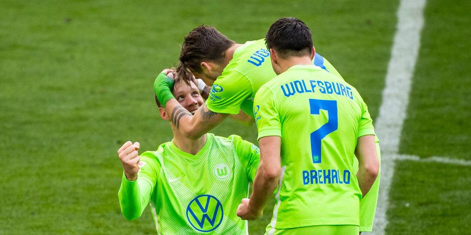«Вольфсбург» победил «Лейпциг» и единолично возглавил таблицу чемпионата Германии