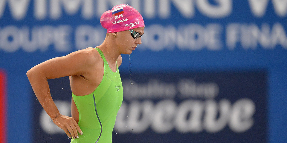 Ефимова выиграла 50-метровку в Барселоне