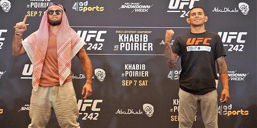 Бойцы UFC охраняют Неймара, нападают на Конора и слушают отца Хабиба. Важное перед UFC 242