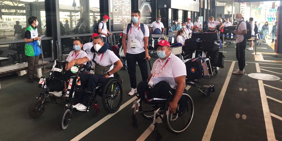 Еще две команды сборной России прибыли на Паралимпиаду