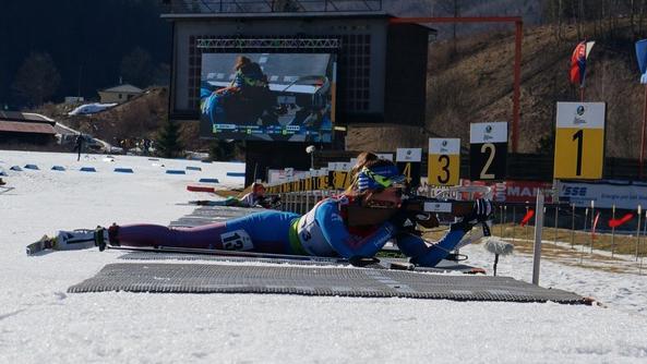 Российская биатлонистка Васнецова выиграла золото пасьюта в Словакии, стартовав 24-й