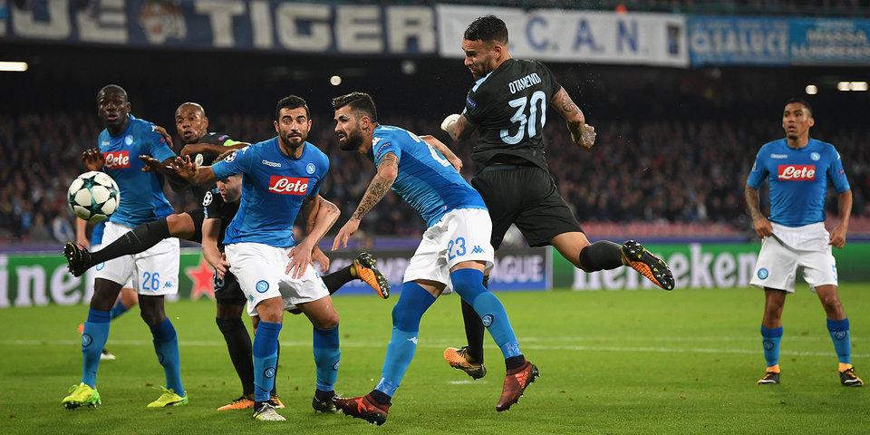 «Ман Сити» вырвал победу у «Наполи» и гарантировал себе место в плей-офф
