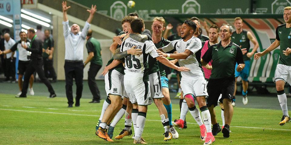 «Краснодар» обыграл «Црвену Звезду» в Лиге Европы, пропустив два мяча