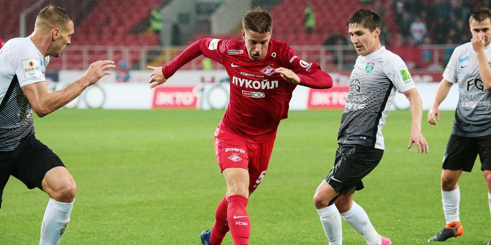 «Тосно» в серии пенальти выбил «Спартак» из Кубка России