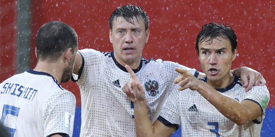 Пляжная сборная России уступила в овертайме ЧМ и сыграет в матче за 3-е место