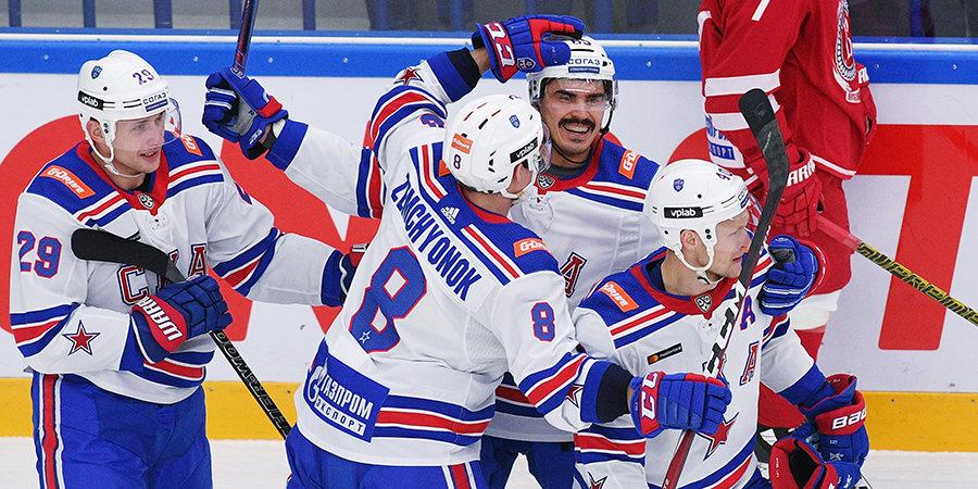 СКА побил рекорд с молодежью, вырастил нового Василевского и обыграл «Витязь» в Подольске