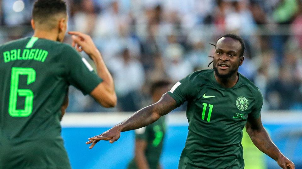 Мозес объявил о завершении карьеры в сборной Нигерии в 27 лет