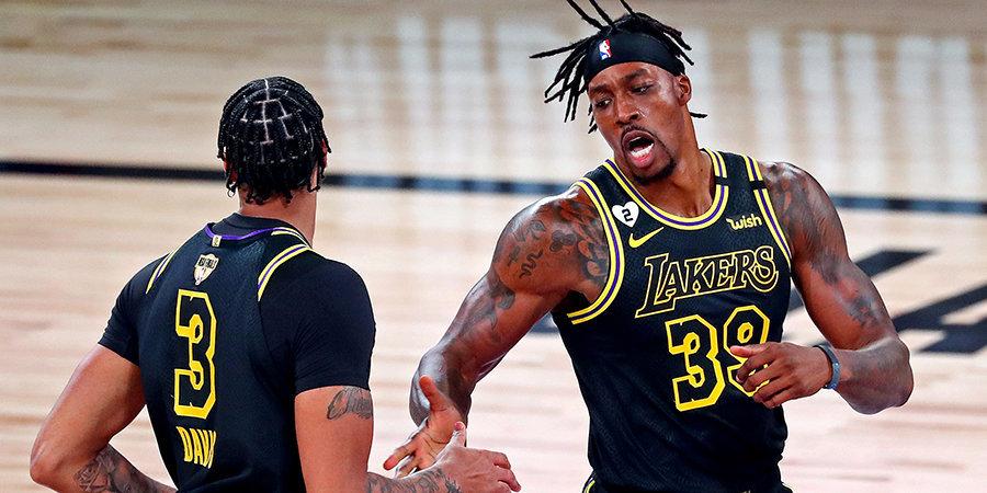 «Лейкерс» установили новый рекорд в плей-офф НБА