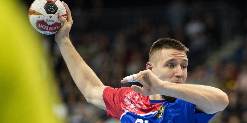 Мужская сборная России по гандболу уступила венграм в стартовом матче чемпионата Европы