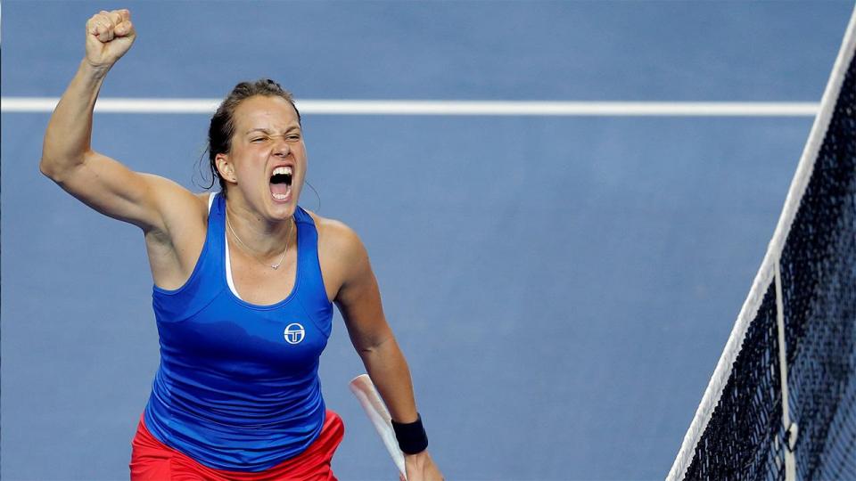 Чешские теннисистки выиграли Кубок Федерации