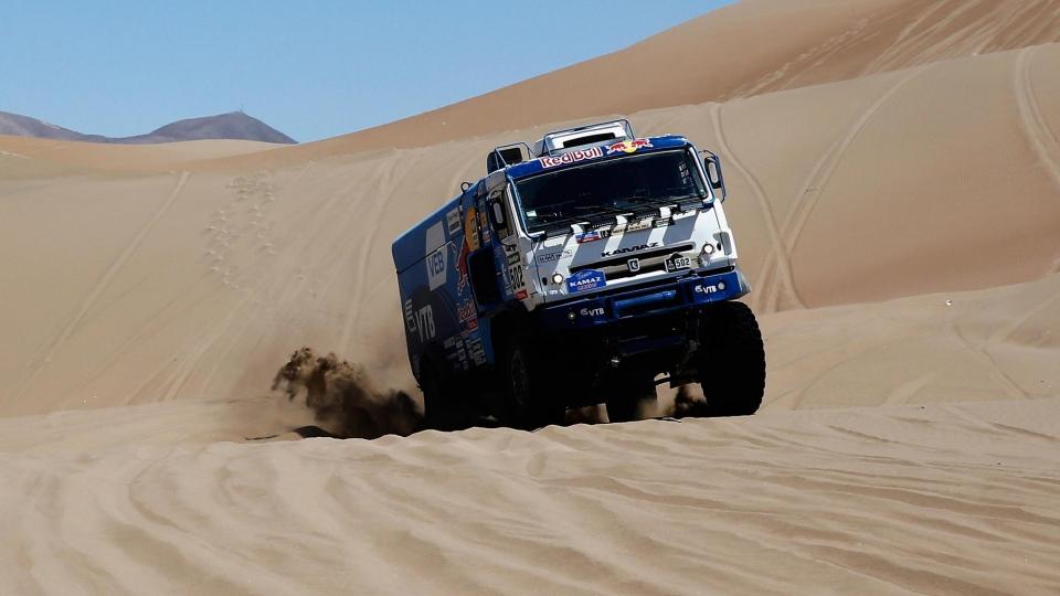 Экипаж Сотникова победил навосьмом этапе ралли-марафона «Дакар» взачёте фургонов