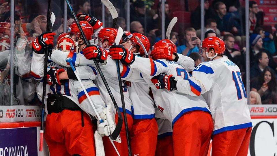 Сборная России разгромила Латвию