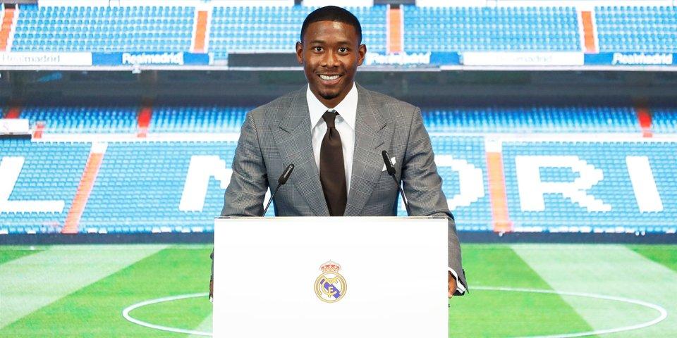 «Реал» провел презентацию Алабы. Австриец выбрал номер Рамоса