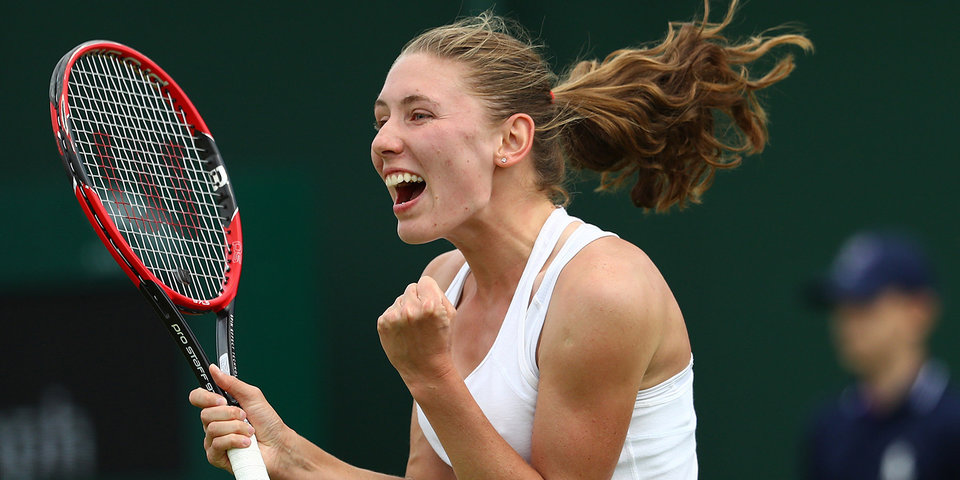 Александрова разгромила Остапенко и вышла в 1/4 финала турнира в Сеуле