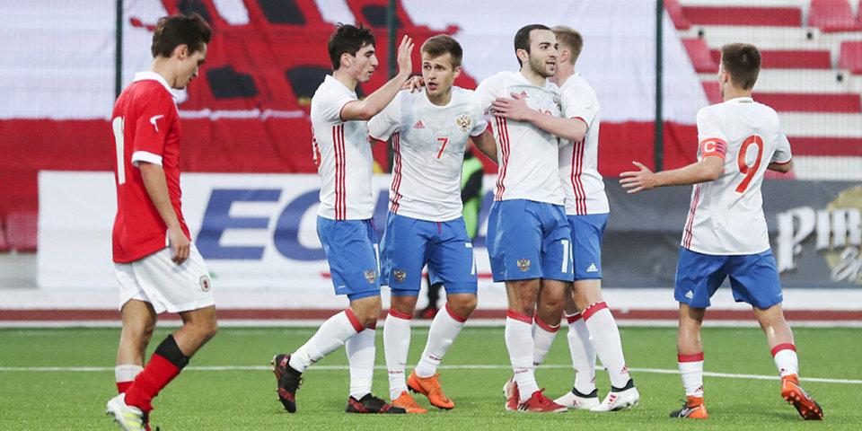 Хет-трик Мелкадзе, который помог молодежной сборной России продолжить борьбу за выход на Евро
