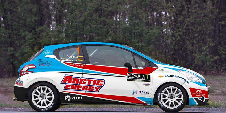 Российская команда Arctic Energy WRT дебютирует в WRC в сезоне 2018 года