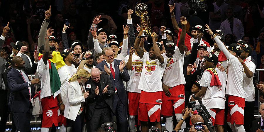 «Давай сделаем что-то особенное». «Торонто»–самый невероятный чемпион НБА в XXI веке