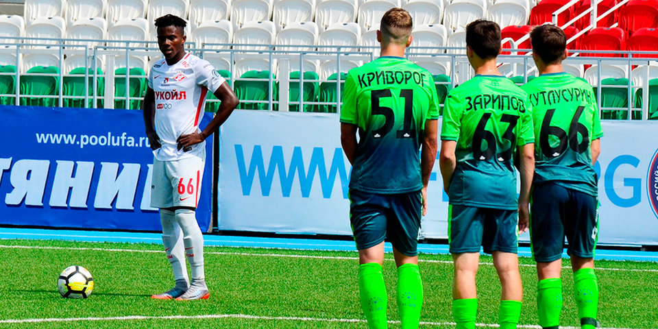 «Спартак» потерпел второе поражение на старте молодежного первенства