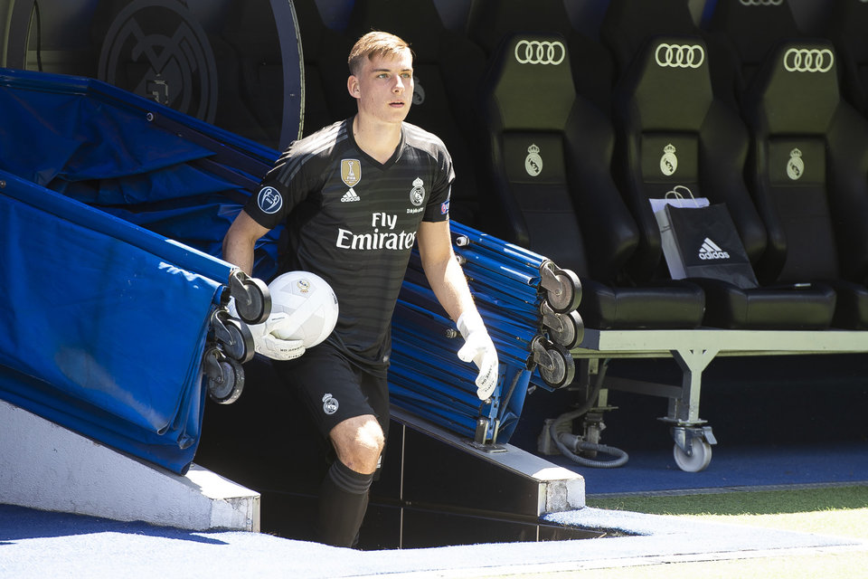 «Райо Вальекано» может арендовать Лунина у «Реала»