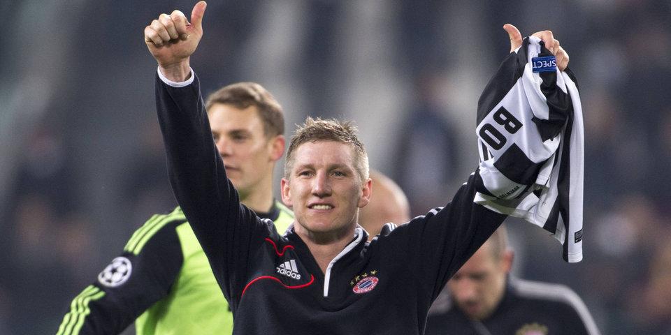 «Бавария» разгромила «Чикаго» в прощальном матче Швайнштайгера