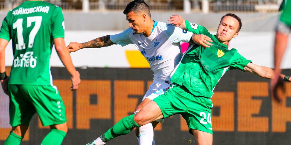 Маркизио забил первый гол в России, но «Зенит» проиграл «Анжи»: голы и лучшие моменты