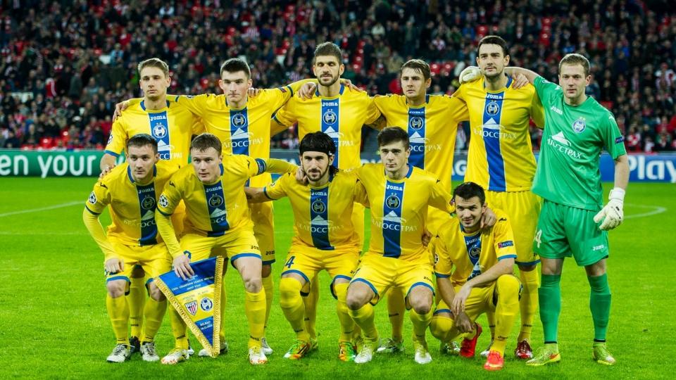 БАТЭ преодолел квалификацию Лиги Европы, «Легия» вылетела