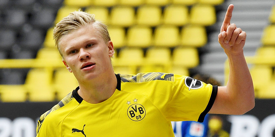 В «Боруссии» сообщили, что Холанд не покинет дортмундский клуб в ближайшее время