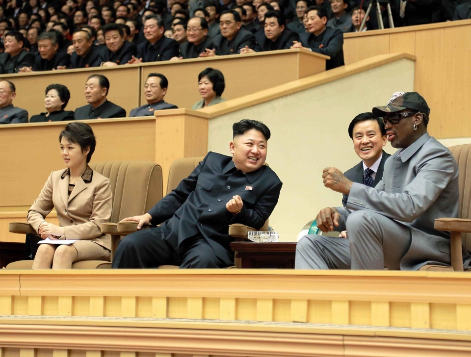 «Надеюсь, что это просто слухи». Родман молится за здоровье Ким Чен Ына