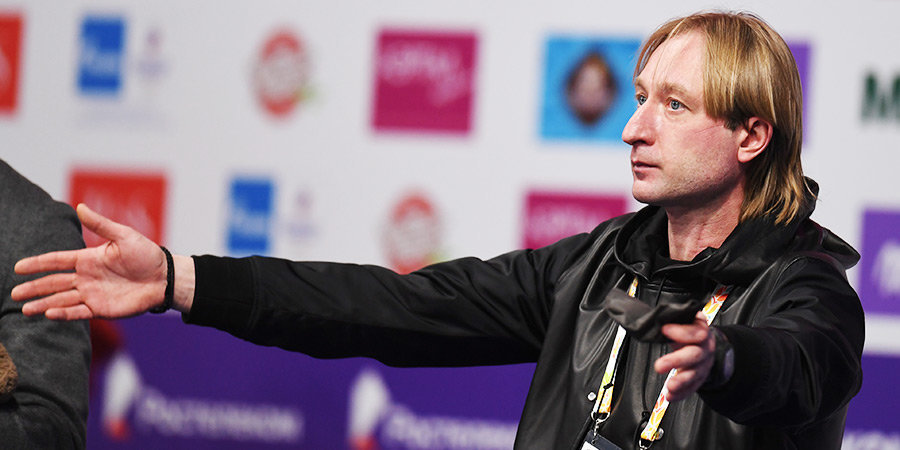 Евгений Плющенко: «Настя Зинина — золото! София Титова — бронза! Спасибо моей команде!»