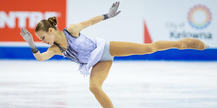 Трусова заявила четыре четверных прыжка на Гран-при России