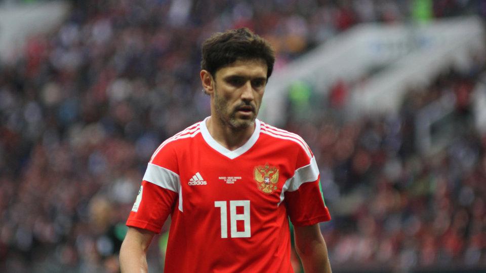 Жирков посетил раздевалку сборной России после матча со Швецией