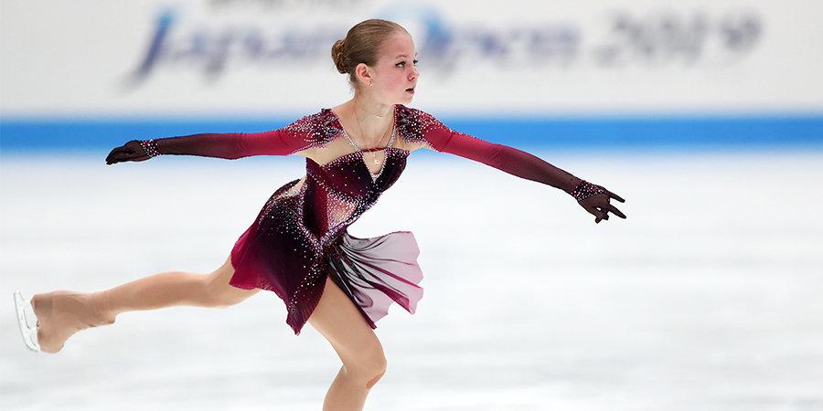 Трусова выиграла этап Гран-при в Москве, Медведева — вторая