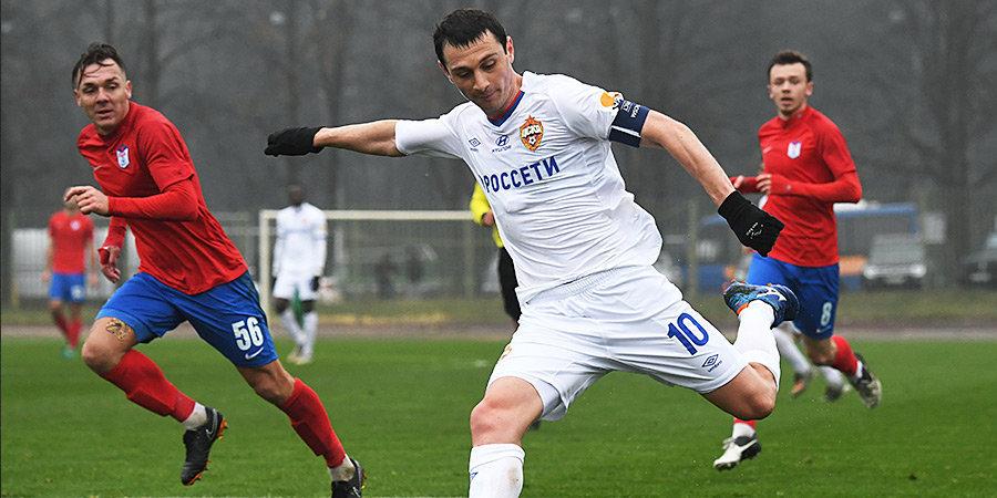 ЦСКА потерял еще одного защитника, зато набирает форму Дзагоев. Как прошел товарищеский матч с клубом Басты