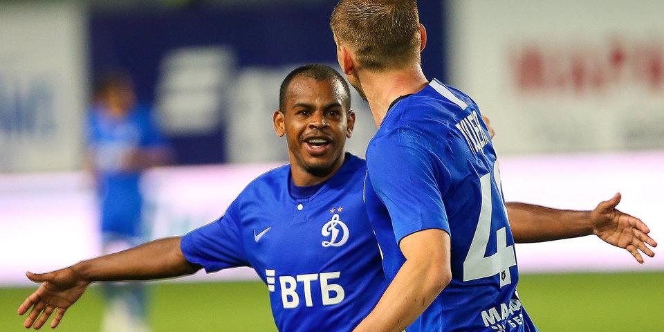 Первая победа «Динамо» в сезоне - и сразу крупная. Лучшие моменты матча с «Уфой»
