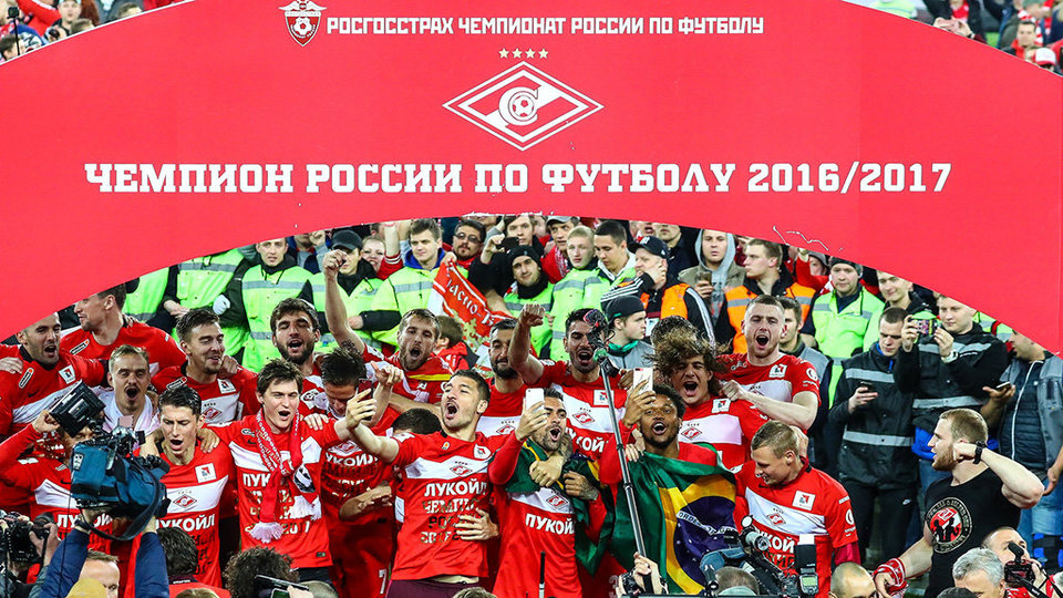 Чемпионы РФПЛ вышли из отпуска