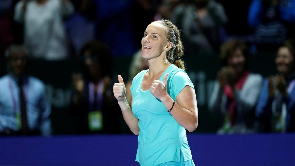 Кузнецова обыграла Павлюченкову и вышла в полуфинал турнира в США