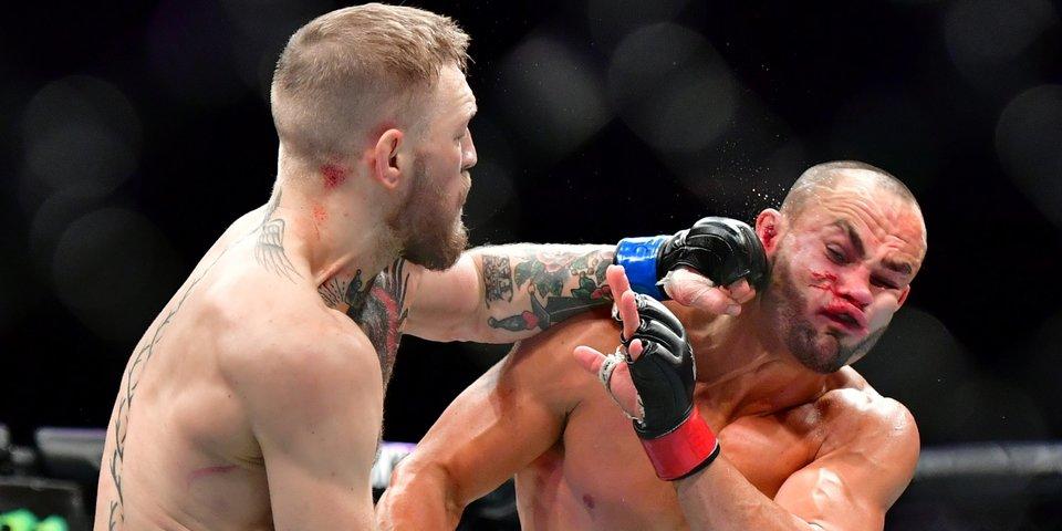 Красивое и жесткое из UFC в замедленном повторе. На видео есть Конор и Хабиб
