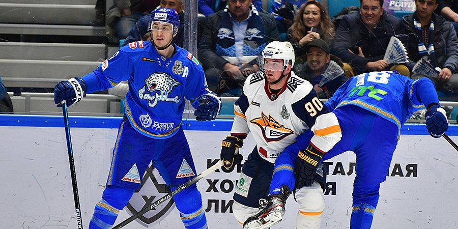 «Барыс» пока не получил разрешения проводить домашние матчи плей-офф КХЛ
