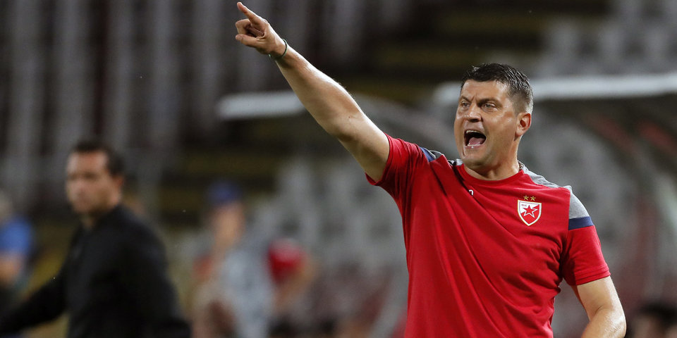 Главный тренер «Црвены Звезды»: «Мои футболисты играли сердцем, спасибо им за это»