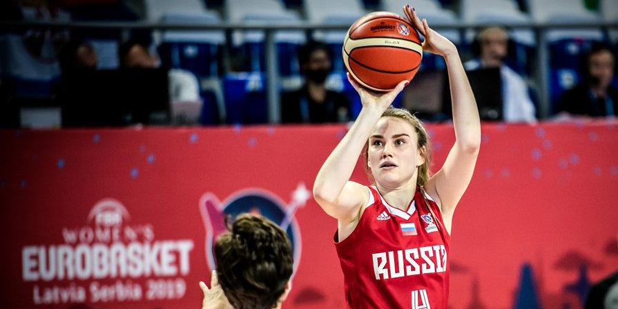 Сборная России обыграла соперниц из Боснии в отборе на Евробаскет, Мусина набрала 25 очков