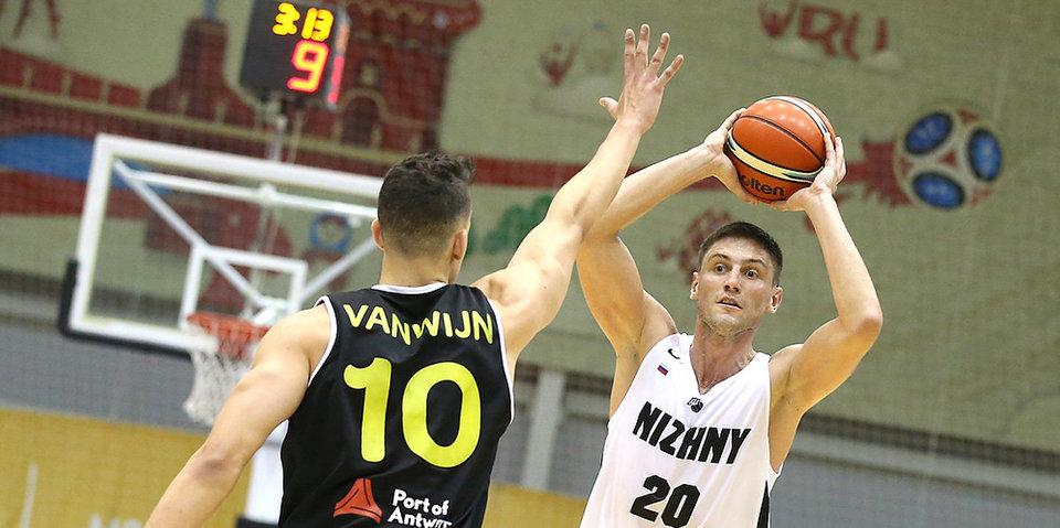 «Нижний Новгород» проиграл четвертый матч подряд в Лиге чемпионов
