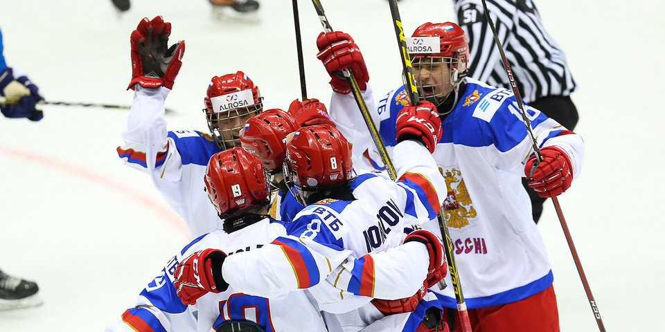 Юниорская сборная России стала третьей на Кубке Глинки/Гретцки