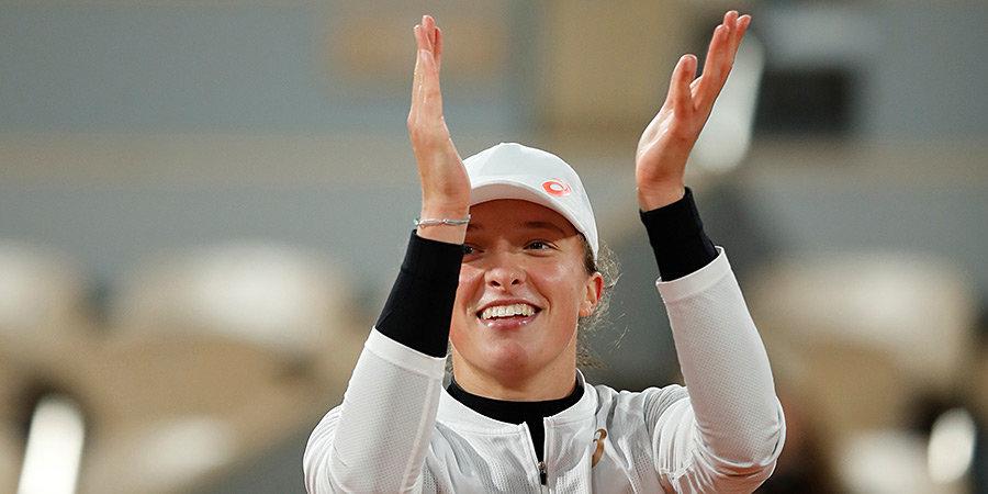 Швентек стала первой финалисткой «Ролан Гаррос»