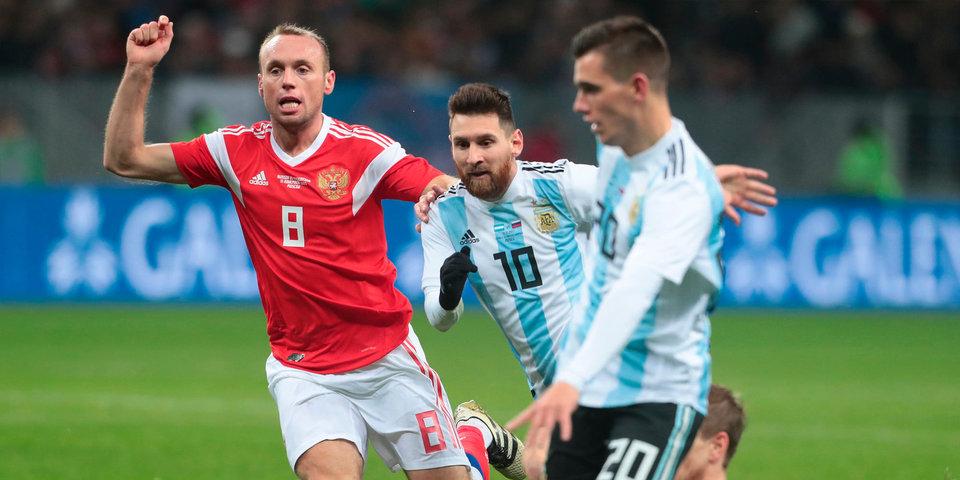 Глушаков назвал возможных соперников сборной России по группе на ЧМ-2018